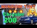 WINDOW TINT Chrysler 200 by Window Tintz in LOS ANGELES