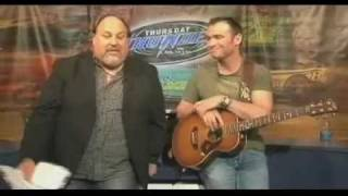 Adam Brand sings Dirt Track Cowboy