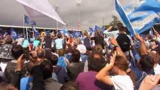 preview picture of video 'Arrivée des joueurs du Castres Olympique champion de France  au stade Pierre Antoine à Castres'