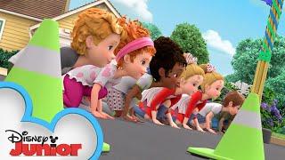 Nancy Runs Her Own Race | Fancy Nancy | @Disney Junior