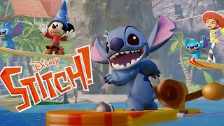 DISNEYS STITCH - FIGHTING AND CLIMBING - DISNEY INFINITY TOYBOX GAMEPLAY 1080P 60FPS