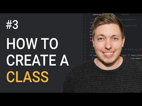 3: Create Classes In OOP PHP | PHP Classes | Object Oriented PHP Tutorial For Beginners | mmtuts