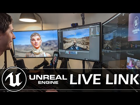 Unreal Engine Launch Live Link iPhone App