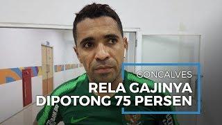 Alberto Goncalves Rela Gajinya Dipotong untuk Klub karena Liga 1 Dihentikan Sementara