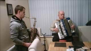 La Paloma - saksofon i akordeon