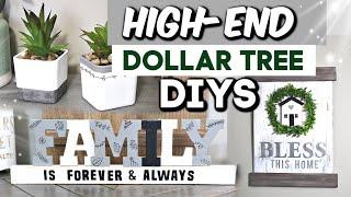 High-End Dollar Tree Crafts You Need To Try!   DIY Dollar Tree Farmhouse Decor   Krafts By Katelyn
