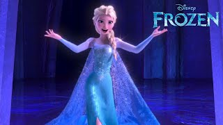 FROZEN | Let It Go from Disney's FROZEN - performed by Idina Menzel | Official Disney UK