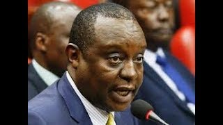 DPP directs DCI to arrest CS Rotich, PS Thuge and others in Aror, Kimwarer dams scandals