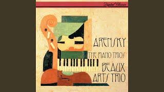 Arensky: Piano Trio No. 2 in F minor, Op. 73 - 1. Allegro moderato