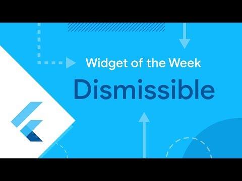 Dismissible