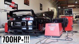 Heavily Modified Toyota Supra POWER RESULTS!