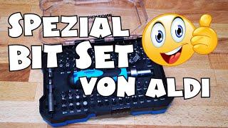 Aldi - WORKZONE® Bit-Set 105-tlg - Vorstellung