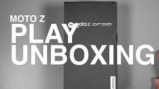Moto Z Play Unboxing!