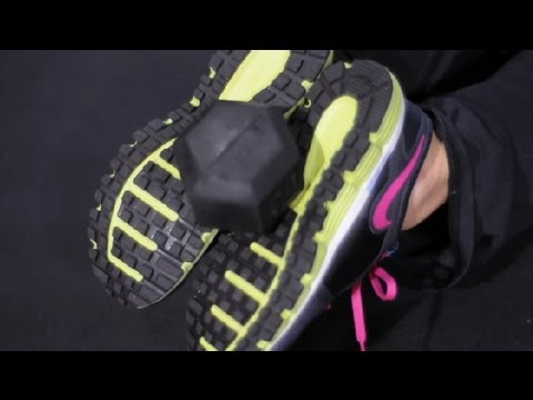 How to: Lying Leg Curl With a Dumbbell at Home : Exercises Using Dumbbells