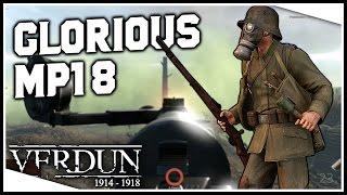 THE GLORIOUS MP18 | Verdun Gameplay (Random Moments #93)