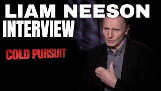 Liam Neeson Interview Speaking On Regret: COLD PURSUIT