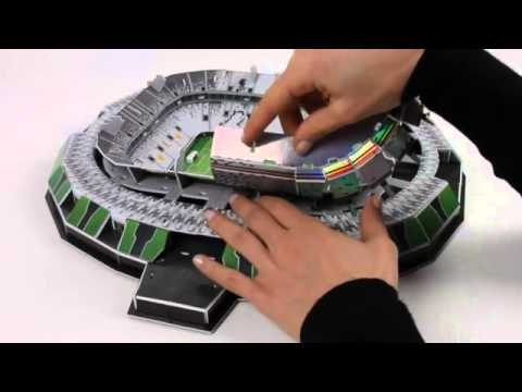 3D-Puzzle Nanostad: Juventus Turin