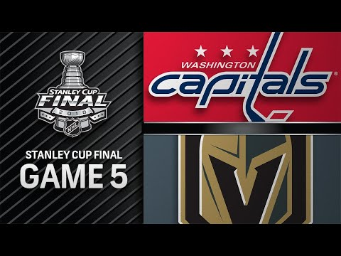 Capitals win Game 5 to secure first Stanley Cup title 12cbd3b69221