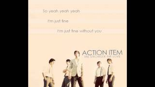 Action Item - Without You with Lyrics