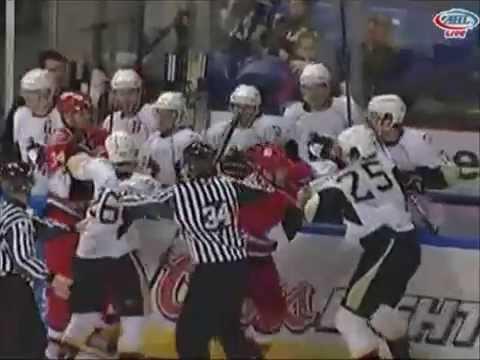 Eric Tangradi vs. Brett Sutter