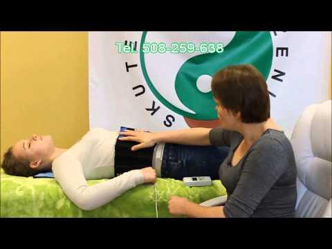 Gimnastyka z płasko-koślawe nogi na wideo dziecka