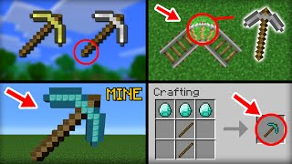 ✔ Minecraft: 10 Things You Didn't Know About the Pickaxe