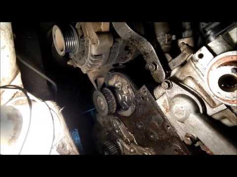 Фото к видео: AVEO F15S3. Одна из причин повышенного шума двигателя.