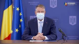 Iohannis: Valeriu Gheorghiţă - coordonator al campaniei de vaccinare la nivel naţional anti-COVID-19