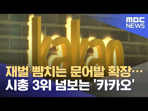 재벌 뺨치는 문어발 확장…시총 3위 넘보는 '카카오'