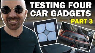 Testing Four Car Gadgets, Part 3