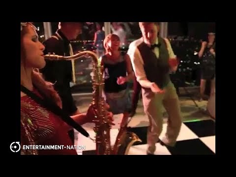 Cherry Sax - Upbeat Jazz Saxophonist