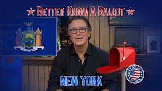"New York, Confused About Voting In The 2020 Election? ""Better Know A Ballot"" Is Here To Help! thumbnail"
