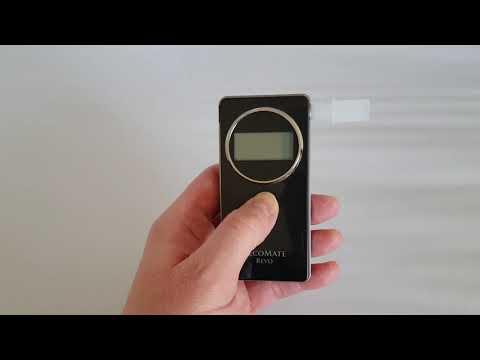Best Breathalyzer Alcohol Tester - AlcoMate REVO Police Caliber Breathalyzer Review