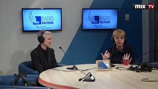 """Татьяна Черковская и Рита Трошкина в программе """"Утро на Балткоме"""" #MIXTV"""