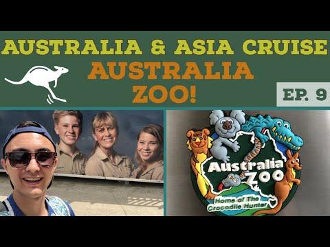 LOST in THE AUSTRALIA ZOO l Brisbane Cruise Port l Cruise Vlog l Ep. 9