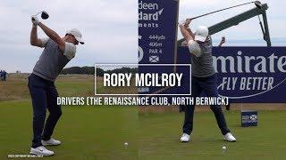 Rory McIlroy Golf Swing Driver(s) (FO & DTL), ASI Scottish Open (North Berwick), July 2019.