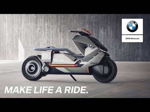 BMW electric scooter concept link