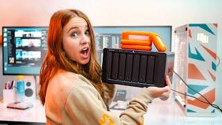 How to Organize Footage - NAS vs Local Raid Storage
