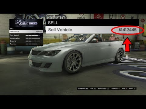 How To Sell Any Street Car For $900,000 In GTA 5 Online! (GTA 5 Online Money Glitch) 100% Legit 1.45