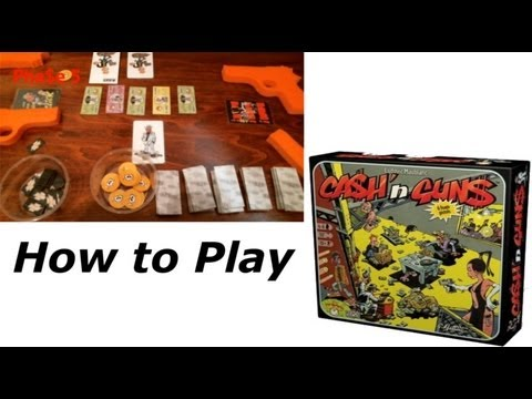 How To Play - Ca$h 'n Gun$ Party Game