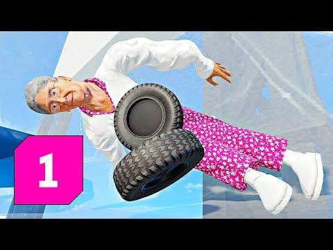 Stuntfest │ Babička v mixéru