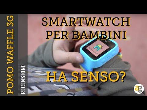SMARTWATCH per BAMBINI ha SENSO? Recensione POMO Waffle con 3G e GPS