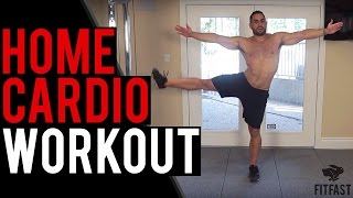 (WARNING: DIFFICULT) 14 Minute Cardio Workout to Lose Belly Fat by BarbarianBody