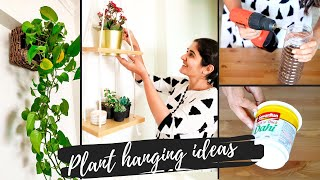 5 Unique Ideas For Hanging Plants Indoors | DIY Elegant And Easy