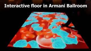 Interactive Floor Projector | Interactive Floor Software | LuminVision