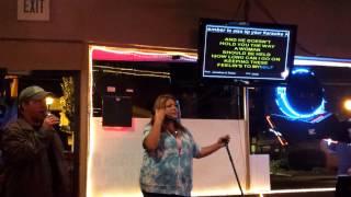 """What if i said"" karaoke @ AJ's"