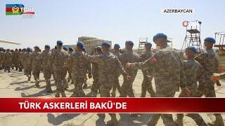 Türk Askerleri Bakü'de