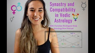 Synastry and Compatibility in Vedic Astrology