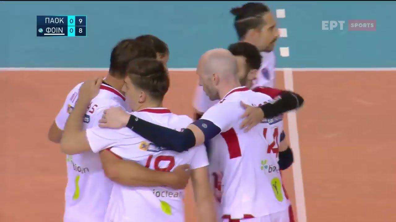 Volley League | ΠΑΟΚ – Φοίνικας Σύρου | 06/04/2021 | ΕΡΤ