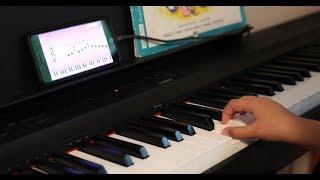 Практика игры на пианино с приложением SimplyPiano